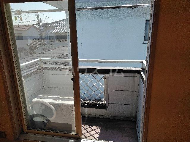 ハイツヤマクラ 202号室のバルコニー
