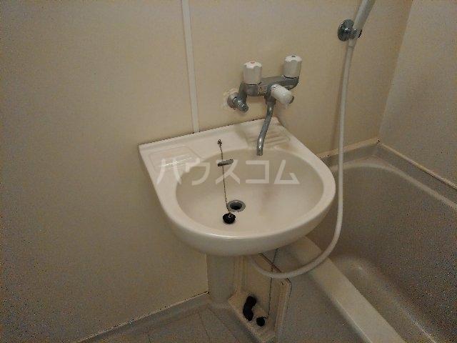 ハイツヤマクラ 202号室の洗面所