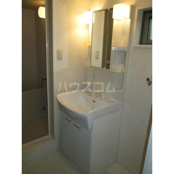 クレフラスト広川A棟 202号室の洗面所