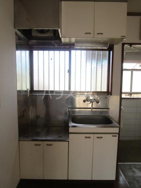 サンフィールド・トウマ 201号室のキッチン