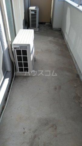 高井ハイツ 406号室のバルコニー