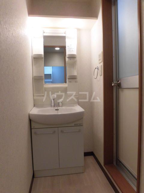 アズキャビンズ 302号室の洗面所