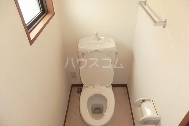 シャルマン 201号室のトイレ