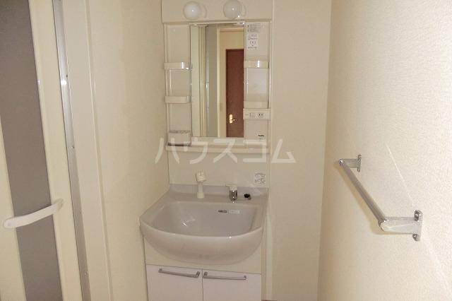 シャルマン 201号室の洗面所
