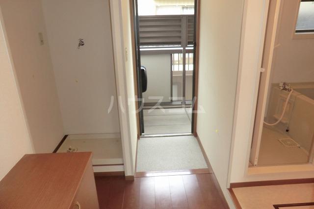 シャルマン 201号室の玄関