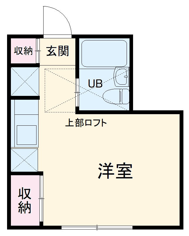 サイトウハウスⅢ・102号室の間取り