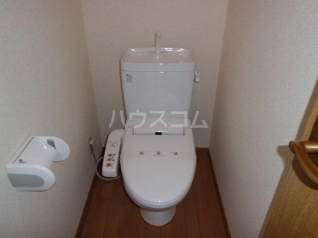 クオリティハイツ稲荷町のトイレ
