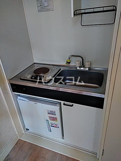 シナーラ衣笠 102号室のキッチン