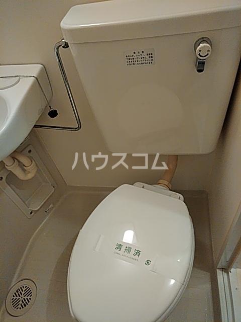 シナーラ衣笠 102号室のトイレ