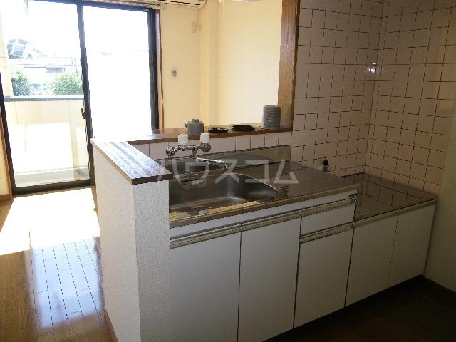 エトワールガレ 202号室のキッチン