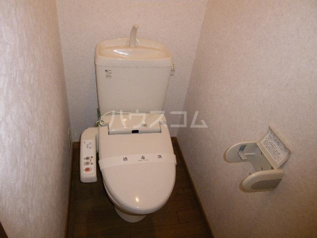 エトワールガレ 202号室のトイレ