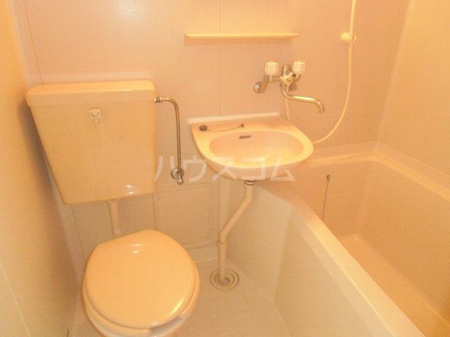 石田荘 201号室のトイレ