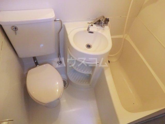 サンハイム大沢 203号室の洗面所