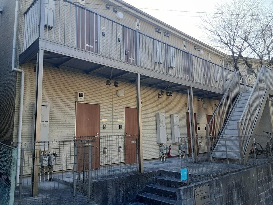 グランマリナー横須賀田浦 204号室の外観