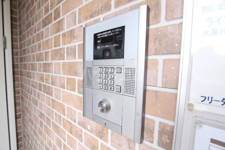 ベルコリーヌ 202号室のセキュリティ