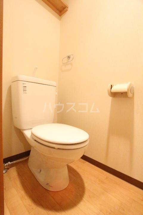 ベルコリーヌ 202号室のトイレ