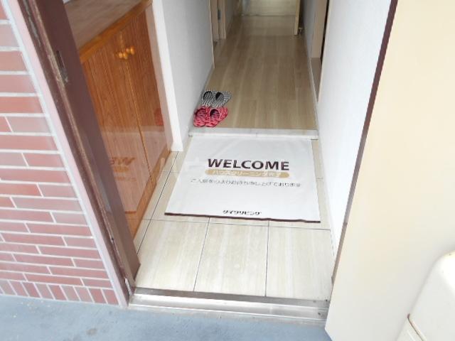 サクセス桜井 103号室の玄関