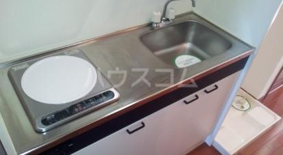 リビオン 201号室のキッチン