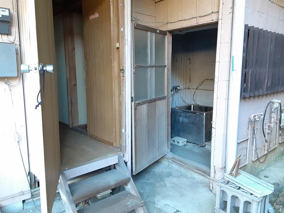 根倉アパート 102号室のキッチン