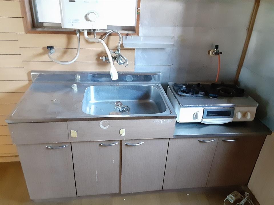 根倉アパート 201号室のキッチン