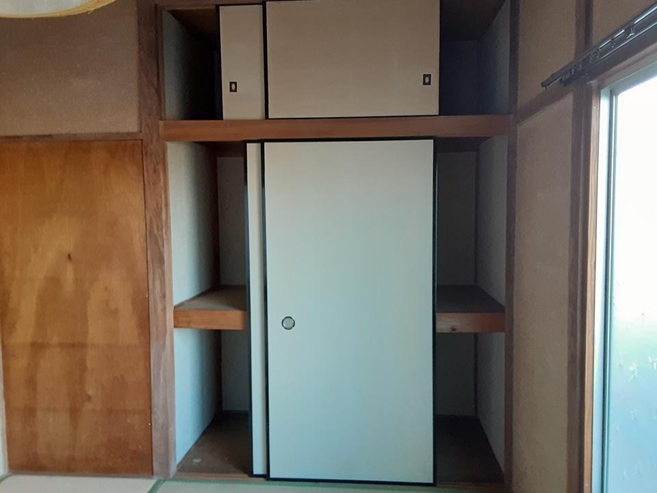 根倉アパート 201号室のバルコニー