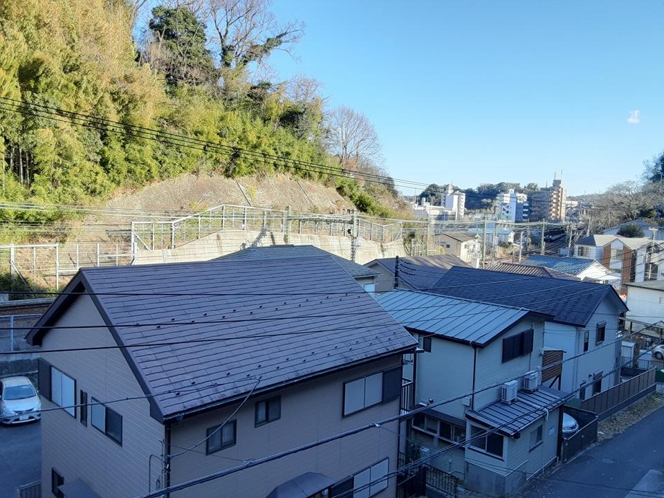 根倉アパート 201号室の庭