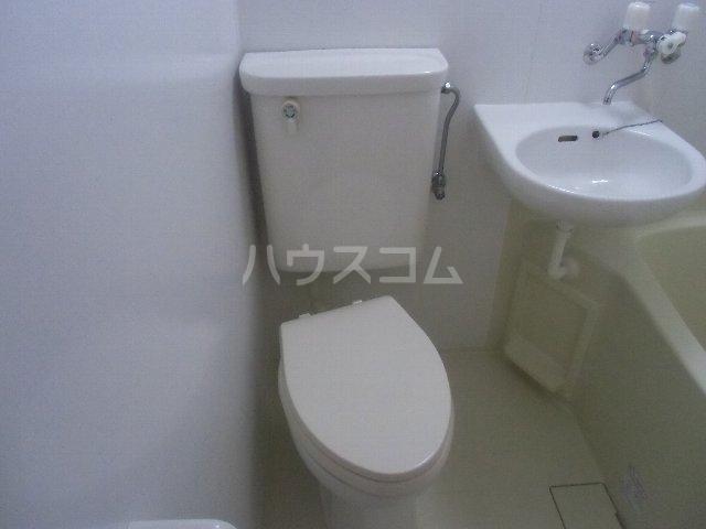 マリンハイツ 104号室のトイレ