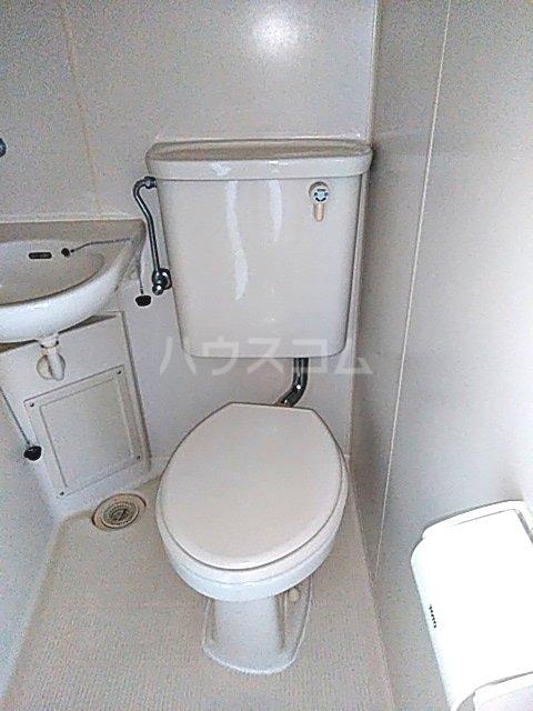 スカイコート中央林間 302号室のトイレ