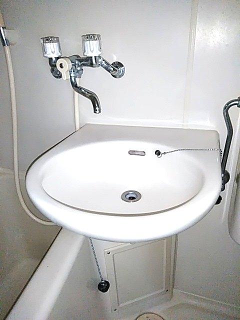 スカイコート中央林間 302号室の洗面所