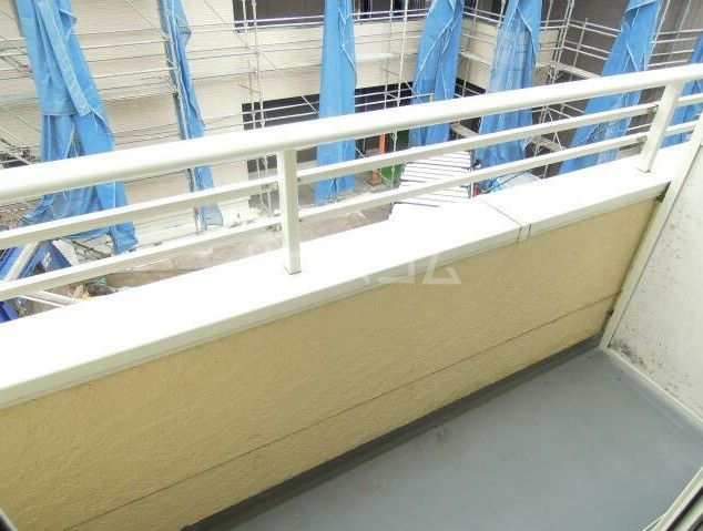 ダンディライオン 203号室のバルコニー