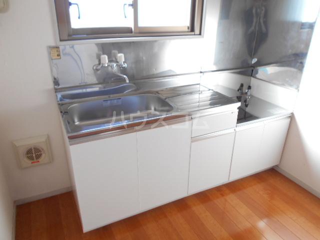 メゾンG 402号室のキッチン