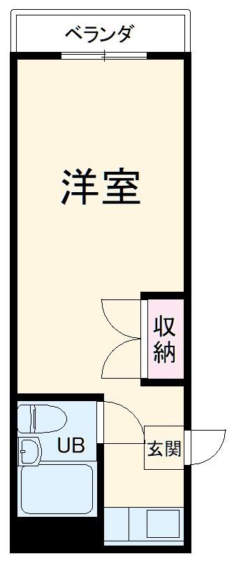 メゾン朋泉Ⅱ 109号室の間取り