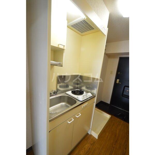 クレールたつた 805号室のキッチン