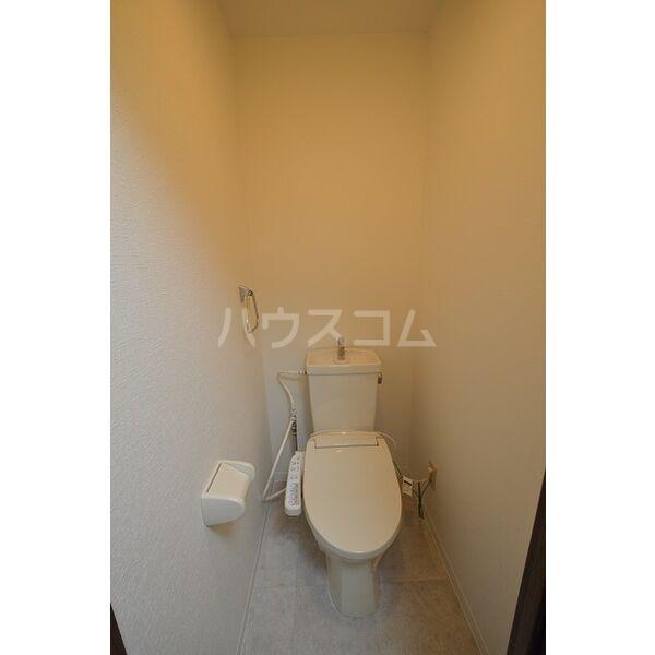 クレールたつた 805号室のトイレ