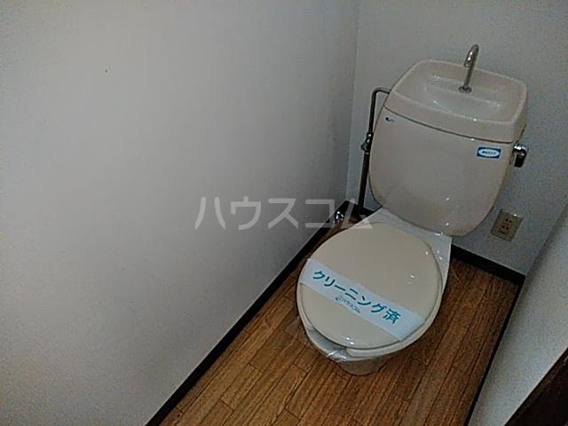 ラフォーレ松原 202号室のトイレ