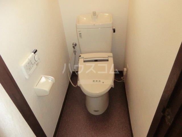メゾンイースト2のトイレ