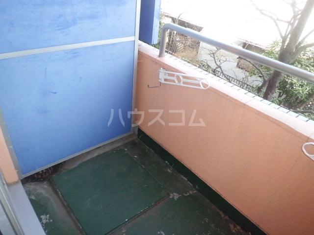 ティファニー2 202号室のバルコニー