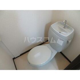 プレリュード 201号室のトイレ