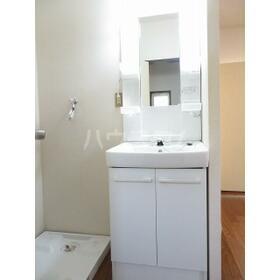 プレリュード 201号室の洗面所