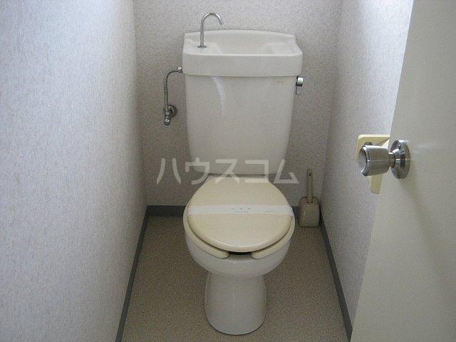 ハイムひがしだい 202号室のトイレ