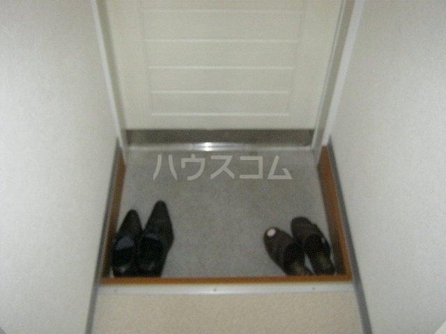 ハイムひがしだい 202号室の玄関