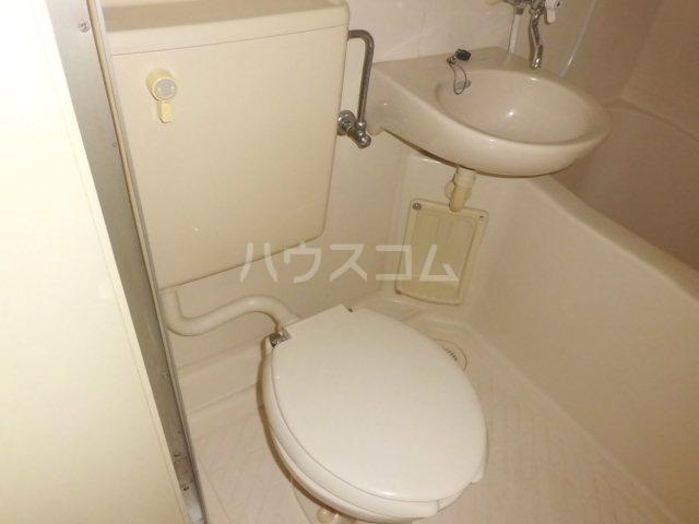 エステート金明 206号室のトイレ