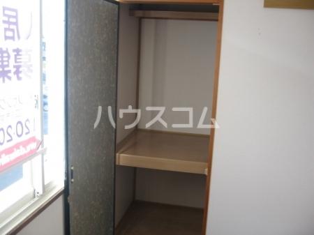 エスポワ清水 101号室の収納