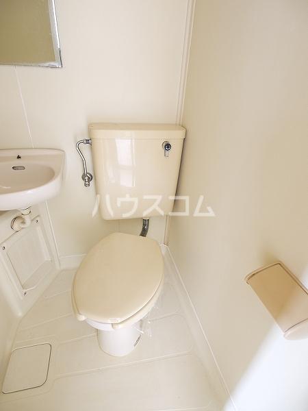 ハルヒハウス 1C号室のトイレ