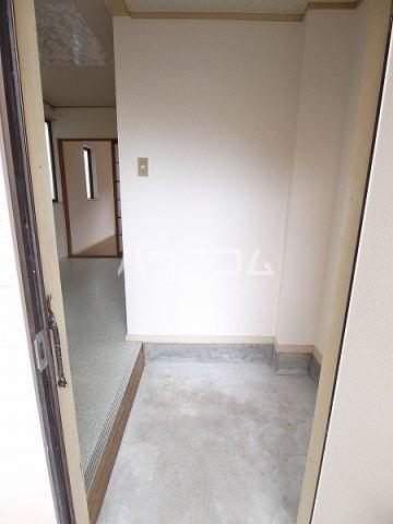 ハルヒハウス 1C号室の玄関