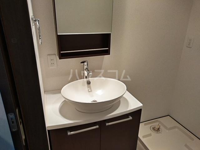 エリュート 105号室の洗面所