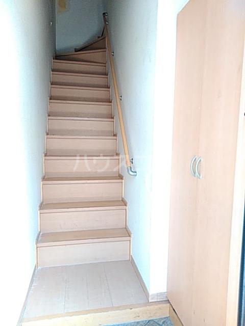 ソレーユ 203号室の玄関
