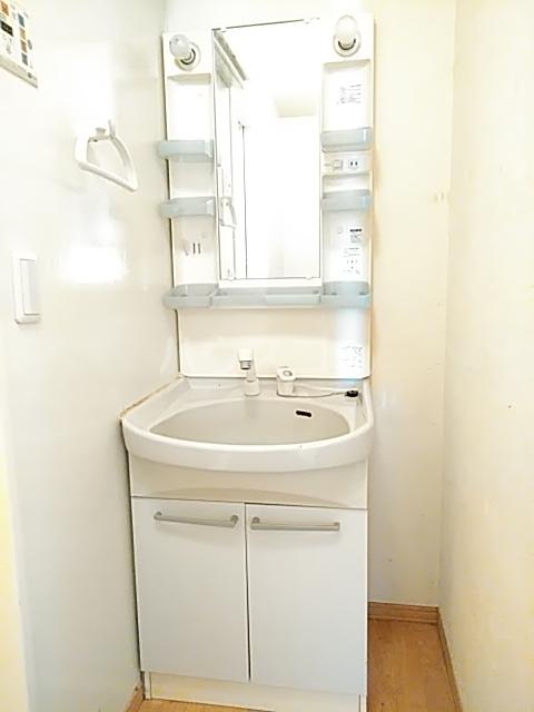 ソレーユ 203号室の洗面所