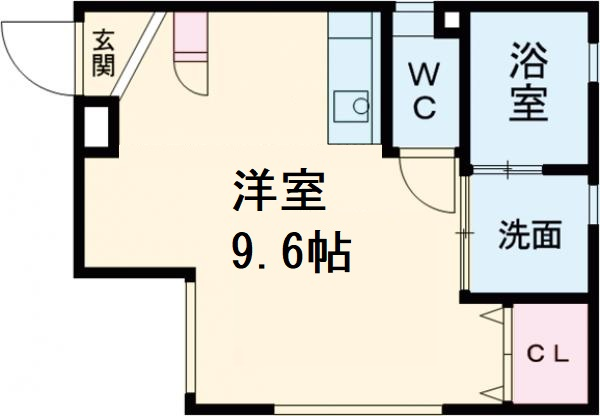 ARK岩塚駅南 A棟・101号室の間取り