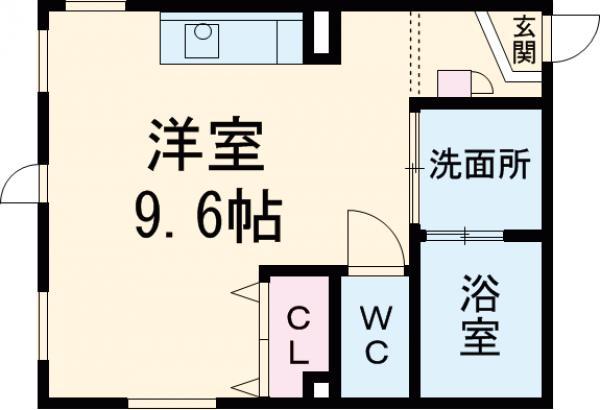 ARK岩塚駅南 A棟・303号室の間取り